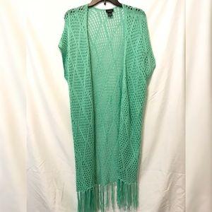 Aqua Open Knit Cover up | Rue 21